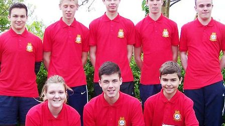 Eight cadets competed in the annual Bedfordshire and Cambridgeshire Wing Athletics Competition at Be