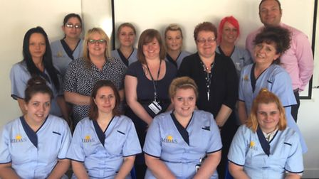 The new batch of Midas Care apprentices