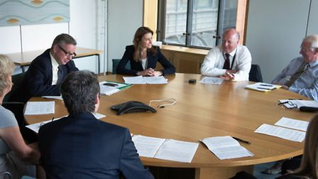 Head teachers meet with Michae Gove in Westminster