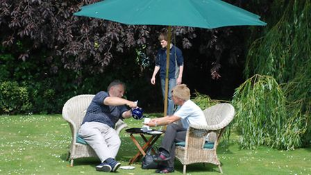 A scene from last year's Open Gardens event.