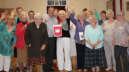 Whittlesey WI President wins £250.00