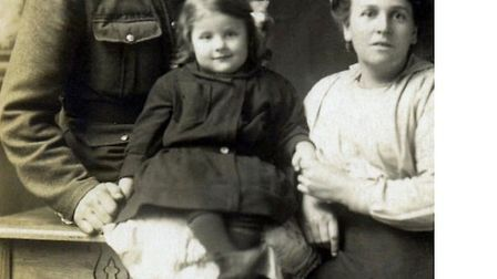 A Wisbech First World War family captured by photographer Lilian Ream. Picture: THE ARMY CHILDREN AR