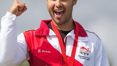 Shooter Aaron Headings success at the Commonwealth Games.