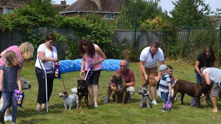 Seventy people and 30 dogs attended Circle Housing Roddons' day of free obedience training at Peyton