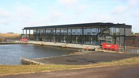 The new St Germans Pumping Station near Wiggenhall St Germans, Kings Lynn. It is one of the largest