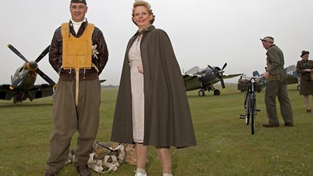 MG_3092 living history groups brought the Second World War to life at IWM Duxford.