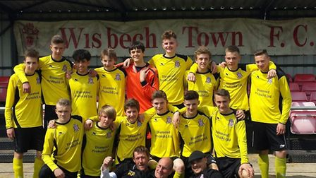 Wisbech Town Acorns were nominated and won the Charter Standard Club Award at Cambs FA's Grass Root