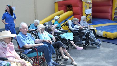 Cedar Court Care Home, Summer fete.Whittlesey. Picture: Steve Williams.
