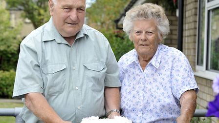 Roy and Shiela Broker, from Ely, celebrate their Diamond wedding anniversary