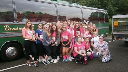 The Neale-Wade Race For Life team.