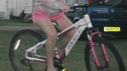 Missing bike from Chatteris
