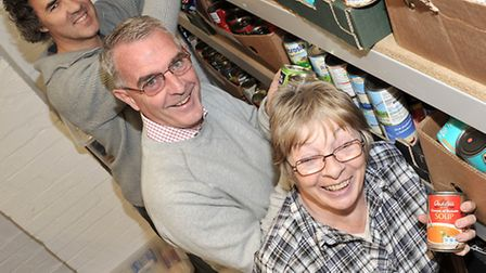 Ely Foodbank has seen an increase in the number of people who are in full-time employment coming to