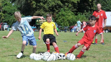 Wisbech Town Acorns Family Fun Day. Picture: Steve Williams.