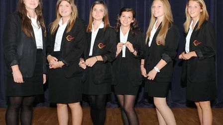 Neale Wade Academy's Physical Education department held its annual presentation evening, Senior gi
