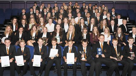 Neale Wade Academy's Physical Education department held its annual presentation evening, All the pr