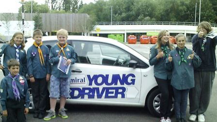 Ely scouts got behind the wheel as part of the Young Driver program