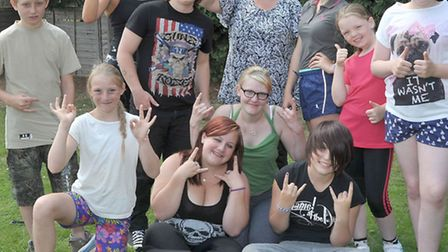 Picnic, Zumba and Boxersise at the Three Horse Shoes PH Turves. Organised by Youth Support Service.