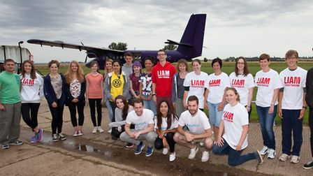 Charity sky dive