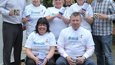Sainsburys has chosen their charity of the year and it is Break which helps young children. Left: Ro