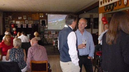 Moore Thompson launched the charitable fund at a World Cup barbecue event at Spalding Rugby Club.
