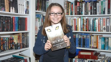 Rosey Copper has published her first book at 12-years-old