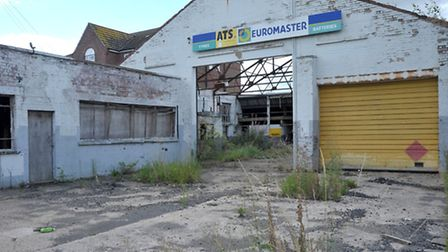 Derelict ATS building on North End Wisbech. Picture: Steve Williams.