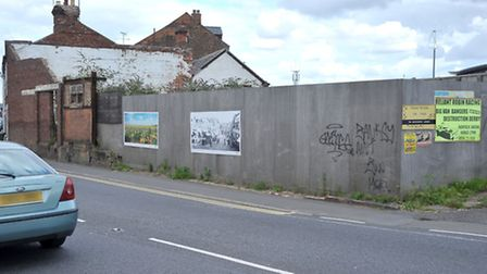 Derelict building in North End Wisbech. Picture: Steve Williams.
