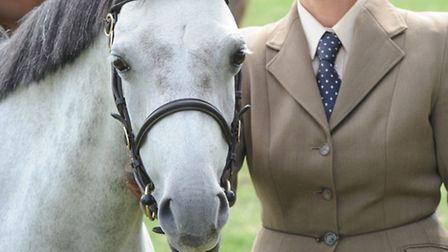 Hazel Walter from Christchurch competing with Downland Elvive at equifest. Picture: Rob Morris.