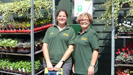Noelia Vidal and Tracy Reade - Westfield Nurseries Station Road Whittlesey