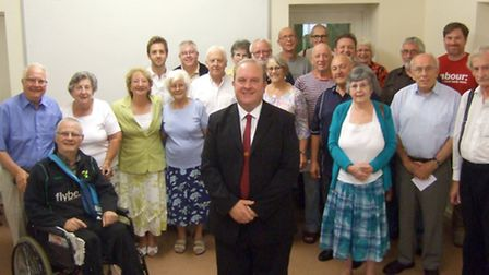 Ken Rustidge was selected as the official Labour Party candidate for Wisbech.