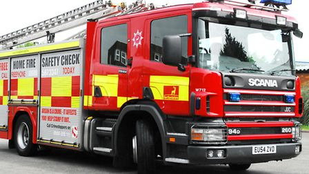 Emergency services were called to a fire in Whittlesey