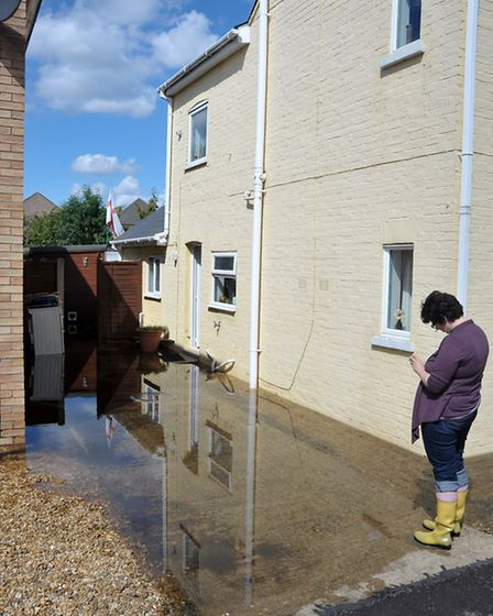 March floods. The day after. Gold Street Picture: Steve Williams.