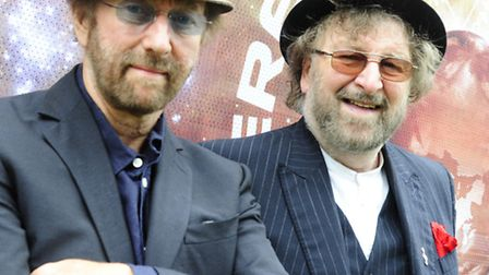 Chas and Dave. Picture: PG Brunelli.