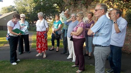 The March Society in Chatteris. Picture: JENNIFER LAWLER.