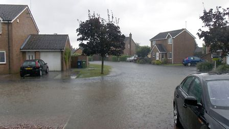 March floods readers pictures.Gresley Way, Picture: Tony Hill.