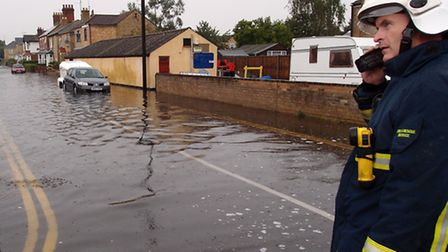 March floods readers pictures. Alpha Street. Picture: Peter Upton.