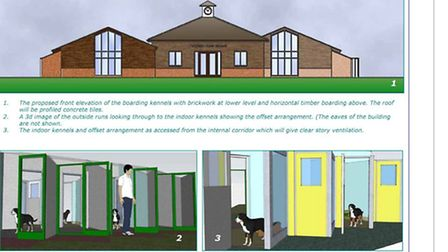 Kennels for New Road, Whittlesey