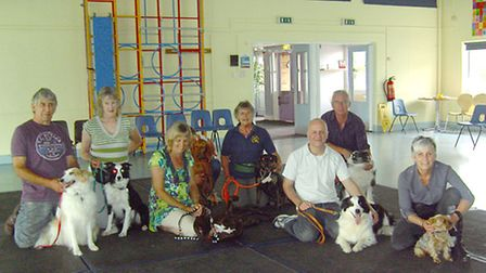 March Dog Training Club held a Heelwork To Music day at Westwood community junior school.