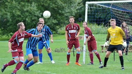 Whittlesey (Coates) Athletic v Deeping Rovers Reserves. Picture: Steve Williams.