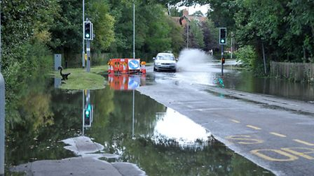Floods, Day after.Harecroft Road Wisbech.Picture:Steve Williams.