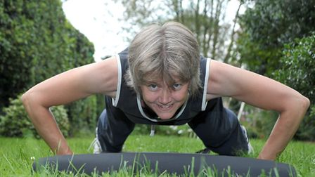 Cllr Anna Bailey. Boot camp Ely. Picture: Steve Williams.