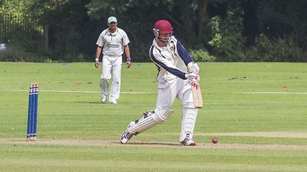 Wisbech seconds v Bluntisham. Picture: BARRY GIDDINGS