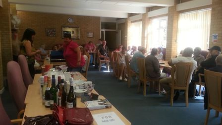 Coffee morning and raffle at Beech House, Littleport