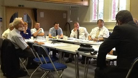March Town Council meeting on Monday