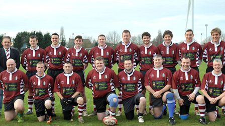 March Bears with their new sponsored kit. Picture: Steve Williams.