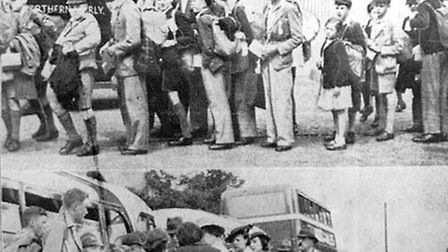 75th anniversary of the arrival of wartime evacuees from London.