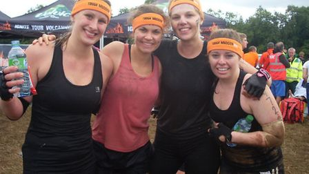 Lauren Tawn, Louise Culley, Lauren Mowbray and Rebecca Knight.