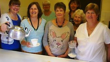 Prickwillow WI hosted a coffee morning