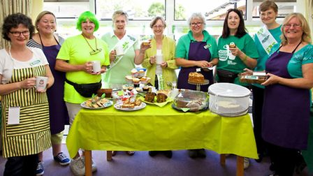 Scott Court hosted a coffee morning in Sutton.