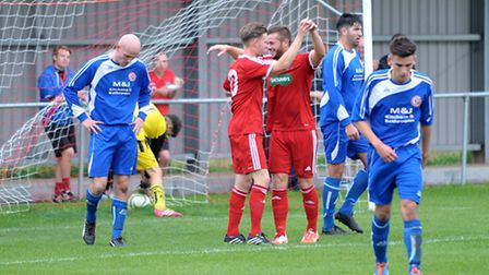 Wisbech football vs Harrowby. Picture: Steve Williams.